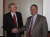 John Barwis presenting Simpson Cup to Wade E. Saadi